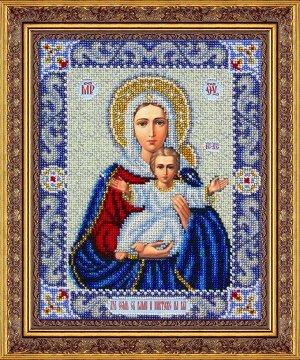 Набор (вышивка бисером) Пр.Богородица Леушинская