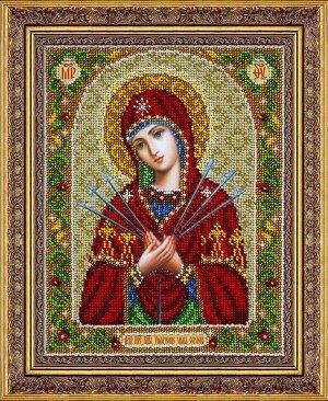Набор (вышивка бисером) Пр.Богородица Умягчение злых сердец