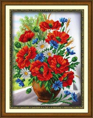 Набор (вышивка бисером) Любимые цветы