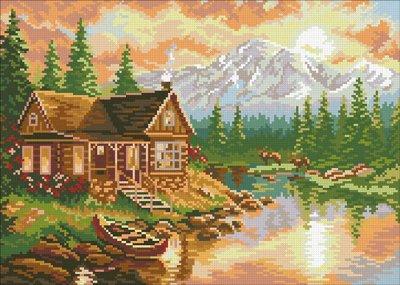 ❤Паутинка. Бисерные наборы. Алмазная мозаика. Пр-во Россия — Пейзажи - Алмазная мозаика — Мозаики и фреска