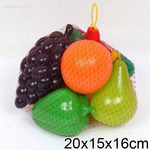 """Совтехстром.Набор """"Фрукты и овощи"""" в сетке арт.У748/У957 /12"""
