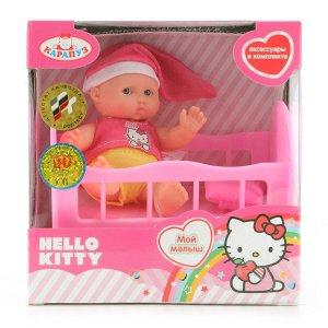 """Карапуз. Пупс """"Hello Kitty"""" 10 см. с аксесс-ми арт.B1118261-RU-HELLO KITTY"""