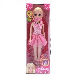 """Карапуз. Кукла """"Мария-балерина"""" 29 см , в ассорт., поет песню певицы Нюши """"Выше"""" арт.6536-RU"""
