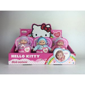 "Карапуз. Пупс ""Hello Kitty"" 12 см. твердое тело,  в ассорт. арт.Y12-DSP-HK /9"