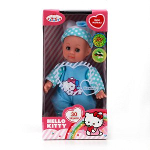 "Карапуз. Пупс ""Hello Kitty"" 18 см мягкое тело, закрыв. глазки, арт.SB18001-RU"