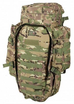 Рюкзак для ружья камуфляж Multicam (75 л) (CH-10) №64(35) - Фронтальный доступ к внутреннему объему рюкзака, встроенный чехол для переноски длинногабаритного оружия, верхний грузовой отсек для перенос