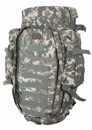 Рюкзак с чехлом для винтовки (камуфляж ACU, 75 л) (CH-10) №62(32) - Материал – качественный водонепроницаемый нейлон Cordura 1000D. Рюкзак большого размера, с регулируемым чехлом под оружие. Проверенн