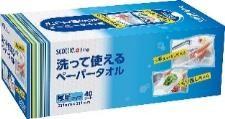МНОГОРАЗОВЫЕ нетканные кухонные полотенца Crecia Scottie 40 листов в коробке