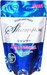 """""""Fresh and Moist"""" Шампунь увлажняющий с аминокислотами, шелком и коллагеном, 300 мл (мягкая упаковка)"""