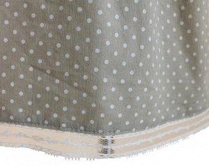 Сарафан Материал: вельвет Длина изделия 46 см, низ сарафана отделан кружевом 2 см, на спинке застежка из 3 пуговиц
