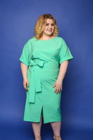 Платье красивого бирюзового цвета, дешевле СП