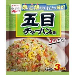 """""""Гомоку тяхан"""" Добавка для риса с креветками и овощами"""