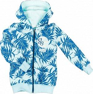 Блуза 1 DADAK. Состав: 95% хлопок, 5% эластан. Ткань плотная, эластичная, с внутренней стороны петельчатая. Модный джемпер с оригинальным принтом на ткани, удобные внутренние карманы - кенгуру, капюшо