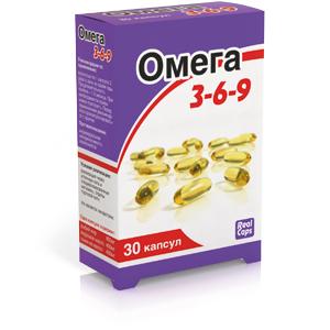 Омега 3-6-9 капс. 1600 мг №30 капс.