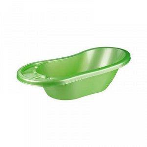 Ванна Ванна дет. 28,0л  КАРАПУЗ САЛАТОВЫЙ.Размеры изделия: Д / Ш / В   880 / 460 / 340 мм. Детская ванночка — это тот необходимый предмет, который пригодится каждому малютке для комфортного и безопасн