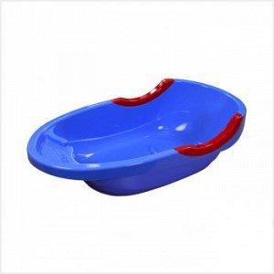 Ванна Ванна детская 40,0л МАЛЫШОК СИНИЙ. Размеры изделия: Д / Ш / В 904 / 475 / 255 мм. Детская ванна «Малышок Люкс» имеет форму, удобную для крохи: спинка изделия наклонена, а дно учитывает анатомиче