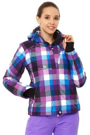 Куртка горнолыжная женская фиолетового цвета