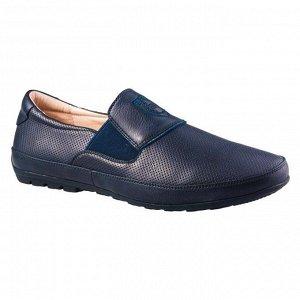 Туфли для мальчика темно-синие