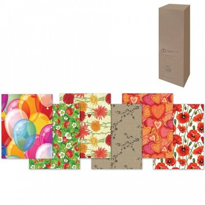 Товары для офиса и школы + Новый год. Календари 2021 — Бумага упаковочная подарочная — Подарочная упаковка