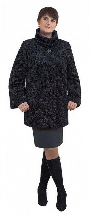 Пальто деми женское  иск.каракуль