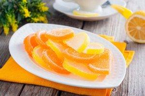 Мармелад Мармедольки апельсин-лимон вес 1 кг