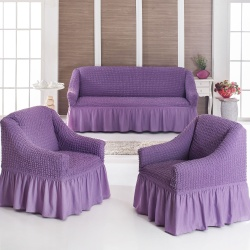 Чехол для мебели 3 предм, лиловый