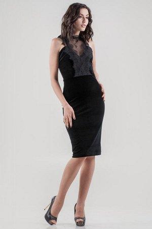 Платье 2645.26 черное