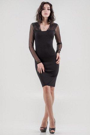 Платье 1682.47 черное