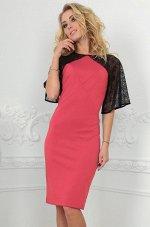 Платье 2522.47 розовое