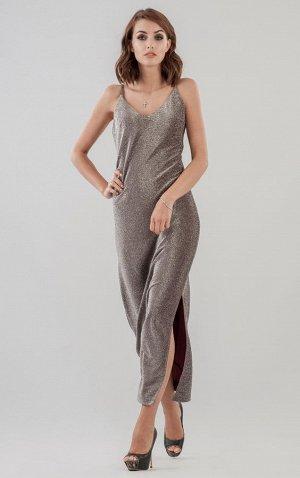 Платье 2629.98 бордовое
