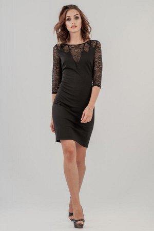 Платье 2630.47 черное