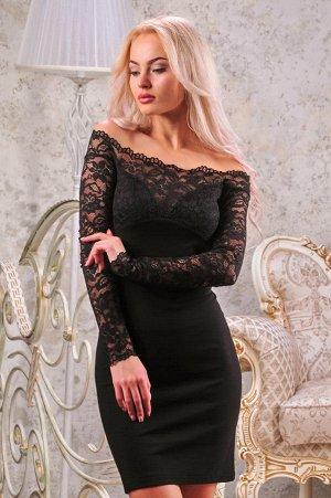 Платье 2208.47 чёрное