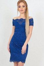 Платье 2208-1 электрик