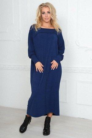 Платье 2491.17 синее
