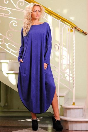 Платье 2424.86 синее