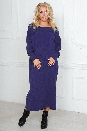 Платье 2491.17 фиолетовое