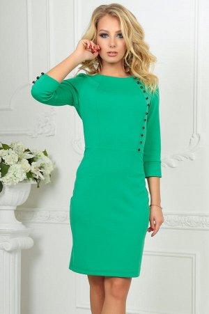 Платье 2475.47 зелёное