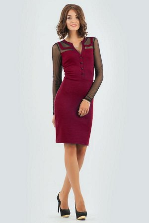 Платье 2456.47 вишневое