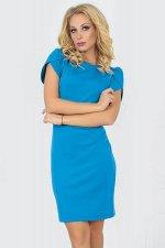 Платье 2504.47 голубое