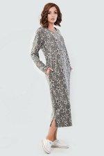 Платье 2470-2.95 темно-серое