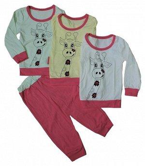 Пижама для девочки (кулир)