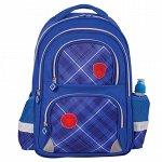 Рюкзак BRAUBERG с EVA спинкой, для начальной школы, мальчик,