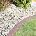 Бордюр для сада Palisada 3,8 м- коричневый