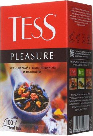 Чай Тесс Pleasure black tea 100г 1/15