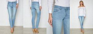 Брюки джинсовые жен. CLOE3SS17 голубой
