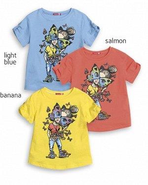 """Джемпер (модель """"футболка"""") для девочек"""