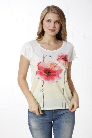 Женская футболка р46—48