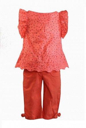 Комплект блуза+бриджи