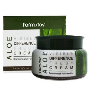 Farm Stay Visible Difference Cream 100 гр. - Крема для кожи лица Aloe