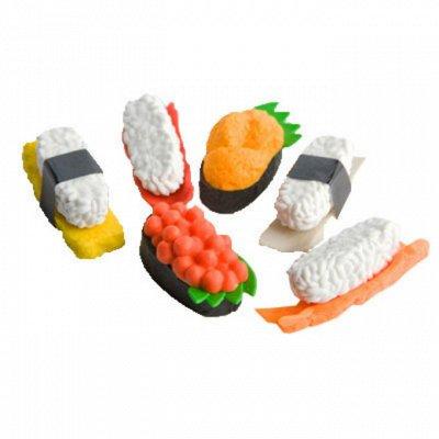 Осенний ценопад до 60%! Детский микс: одежда, игрушки, книги — iwako Коллекционные японские ластики  — Школьные принадлежности